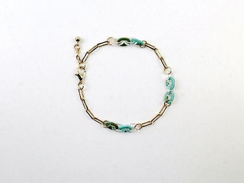 Caitlin Whimsical Link Bracelet