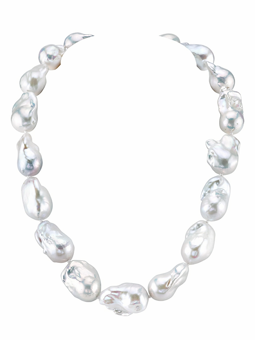 Grand Artisan Pearl Necklace