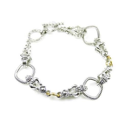 Scarlett 2 Tone Bracelet