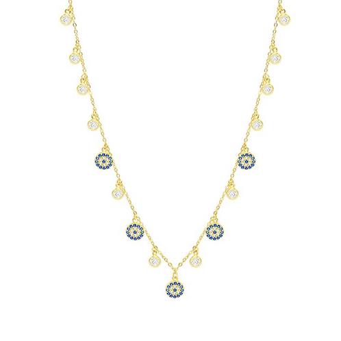 Athena Evil Eye Necklace