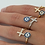 Thumbnail: Evil Eye and Cross Ring