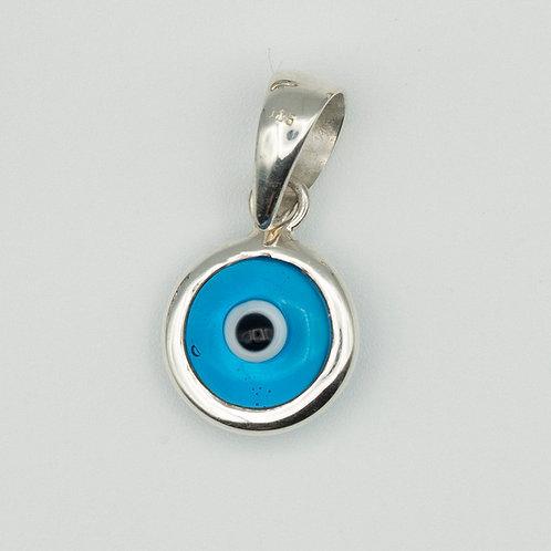Evil Eye Pendant Silver