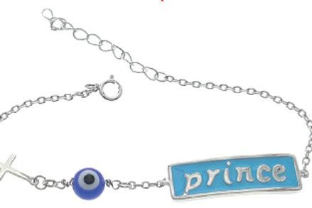 Charming Evil Eye Kid's Bracelet
