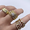 Thumbnail: Roxanne Six Stackble in One Ring.