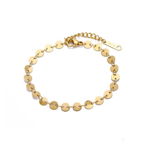 Mila Coin Bracelet