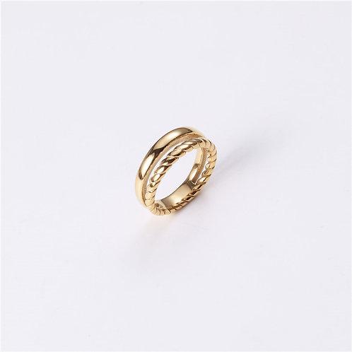 Gabriella Braided Ring