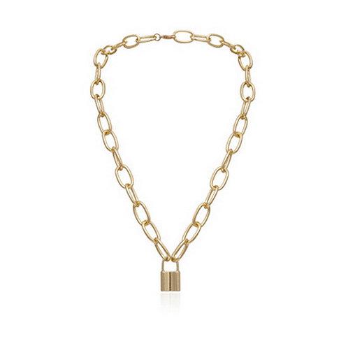 Aurora Lock Necklace