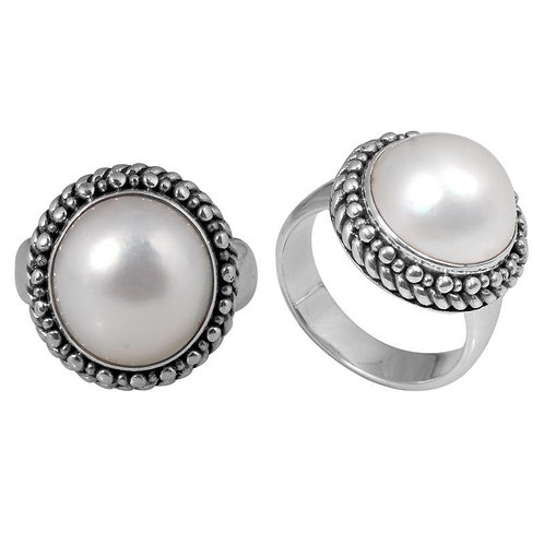 Royal Dome Pearl Ring