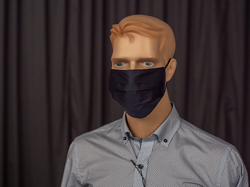 Metzler  Falt-Hygienemaske mit HeiQ Viroblock Technologie