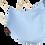 Thumbnail: Colourful 3D-MetzlerHygienemaske mit HeiQ Viroblock-Technologie