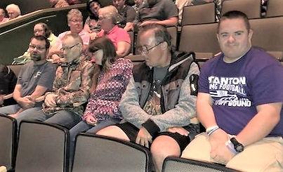 Dylan, Jen in audience.jpg