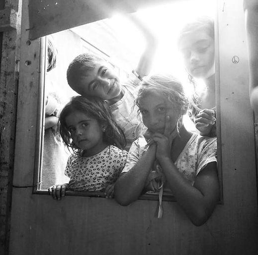 Bambini Siriani, Vasilika Refugee Camp.j