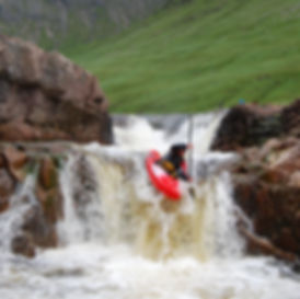 Triple Step Etive Whitewater Kayak Scotland