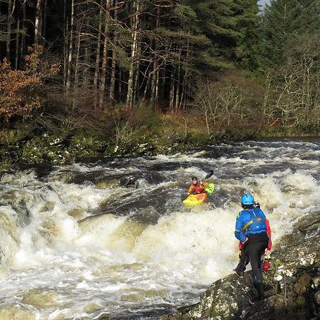 Easan Dubh Whitewater Kayak Scotland