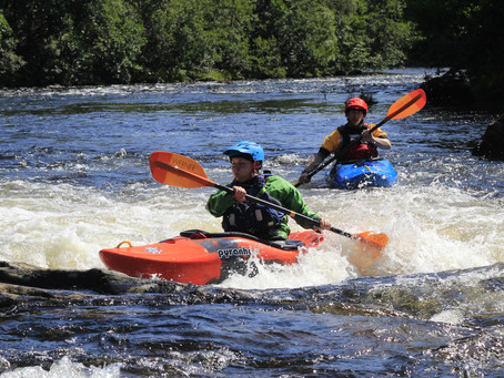 5 Must paddle grade 3 rivers in Scotland