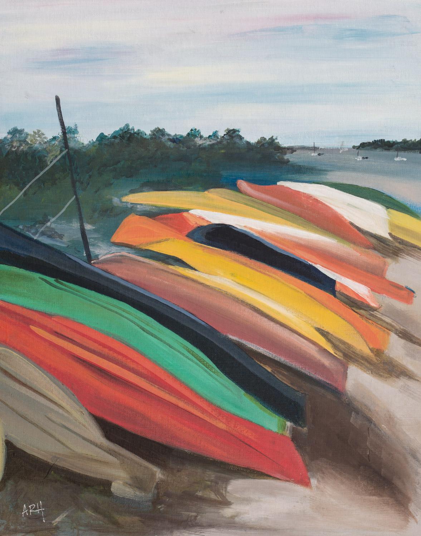 Clark Beach Boats, Ipswich.