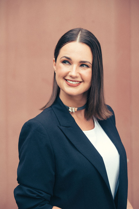 stylish corporate portrait  sydney