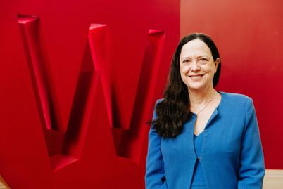 Sydney corporate portrait photography of a western sydney universty award winner.