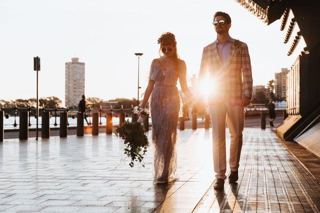 Alternative sydney wedding photography.