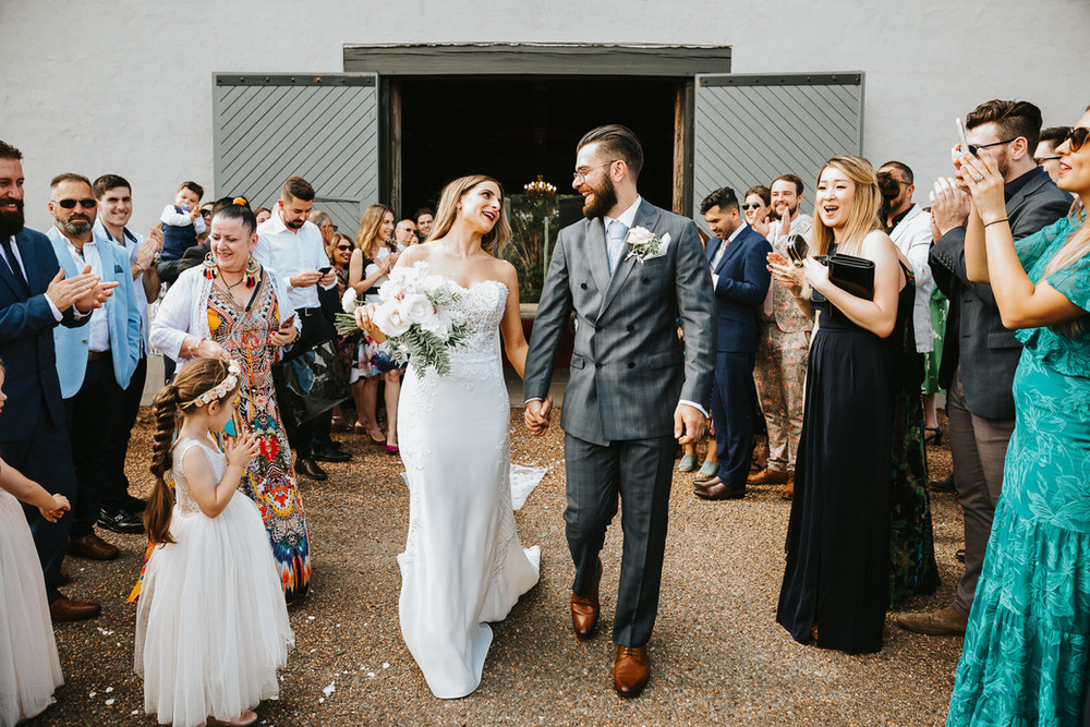 Stunning country wedding