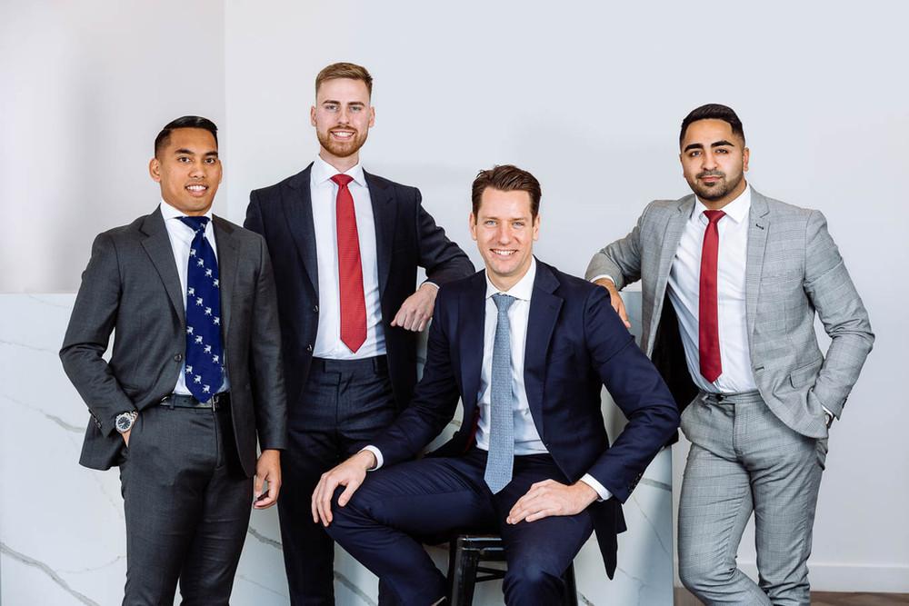 Corporate team photos in sydney