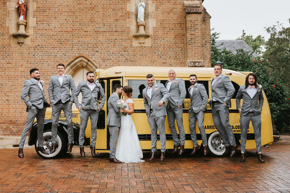 Fun wedding photography sydney