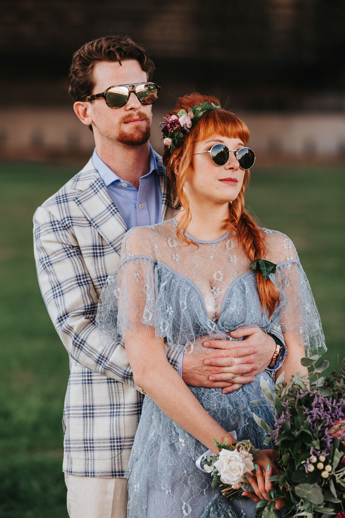 Rock and roll elopement wedding in sydney