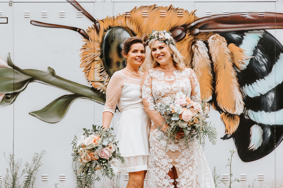 Georgous same sex wedding photography