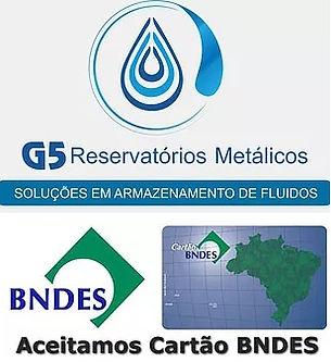 Caixa Dágua Metálica Taça em Aparecida de Goiânia e Cuiabá e Campo Grande