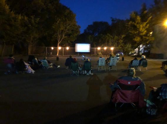 October's movie night!