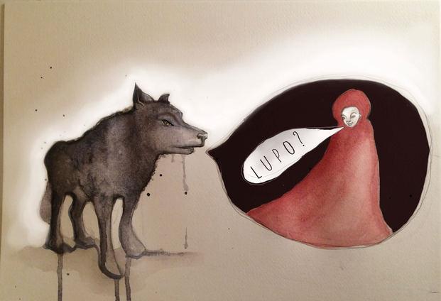 Se poi arriva il lupo mi lascio mangiare