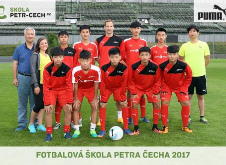 MEZINÁRODNÍ LETNÍ FOTBALOVÁ ŠKOLA PETRA ČECHA 1.-7.7.2017/ 2019 彼得 切赫 国际足球夏令营 1.-7.7.2017