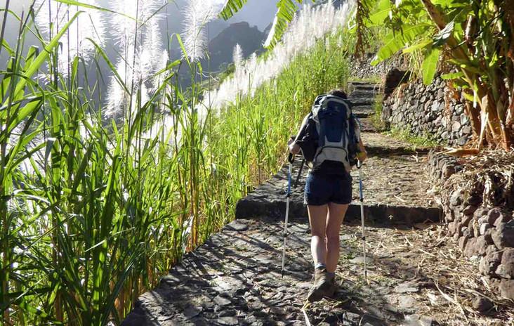 Hiking on Santo Antão