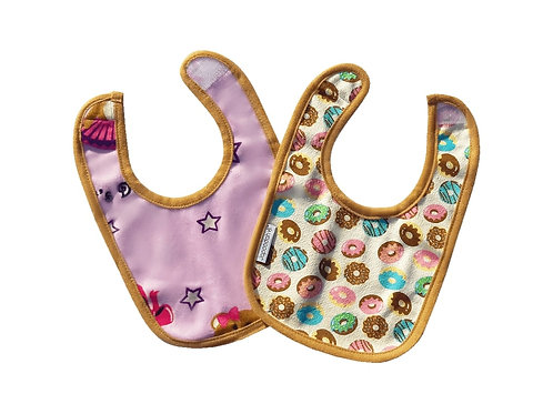Special Offer Donuts and Ballet Reversible Dribble Bib