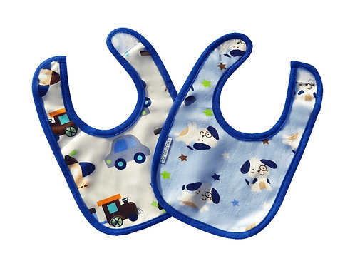 Special Offer Puppy and Train Reversible Dribble Bib