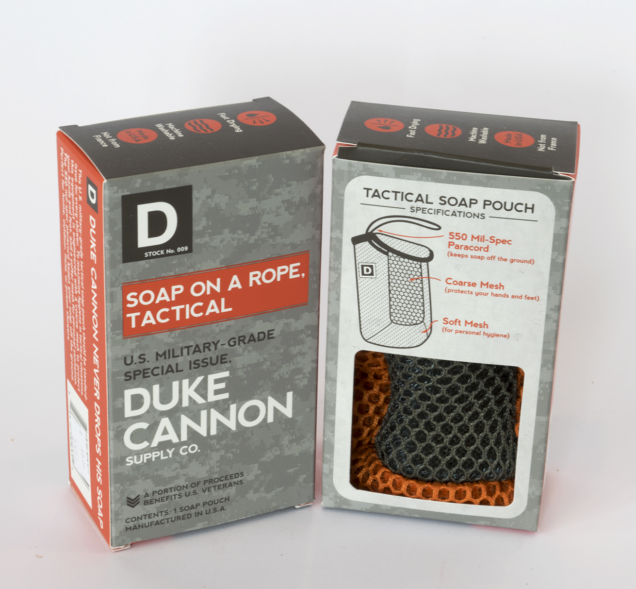 Duke Cannon Soap on  Rope, Tactical