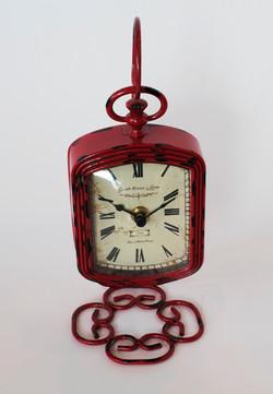 Creative Co-Op Pewter clock