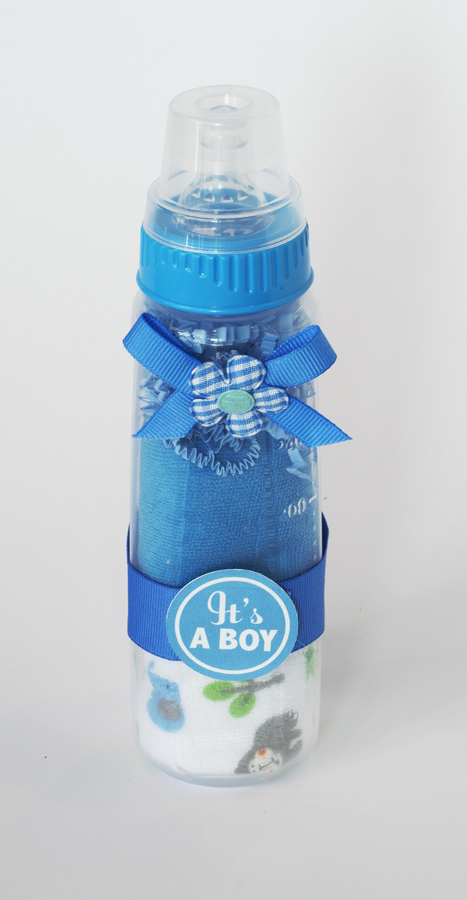 Washcloth Baby Bottle