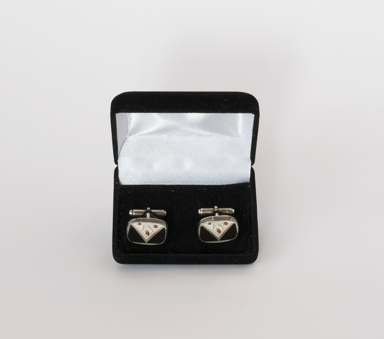 China Baroque Sterling cufflinks