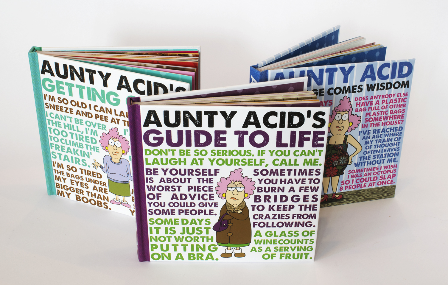 Aunty Acid Books