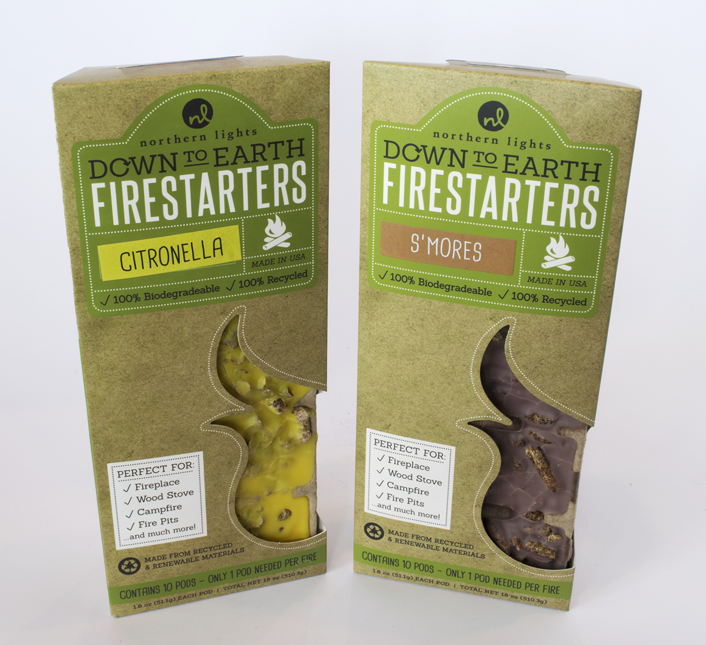 Northern Lights Fire Starters