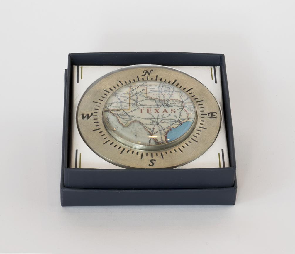 Chart Metalworks Houston Compass