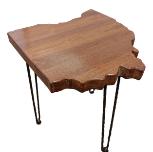 State Shaped Table