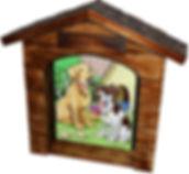Dog House - Shadowbox Frame