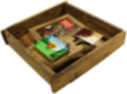 Smokey the Bear - Custom Shadowbox Frame