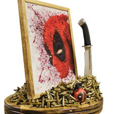 Deadpool Coffee Table Art