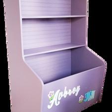 Toybox with Bookshelf