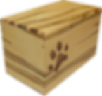 Pet Urn - Maple with Inlaid Paw Print