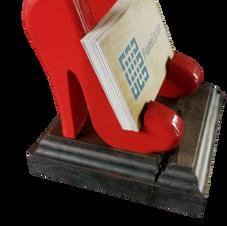 High Heels Business Card Holder