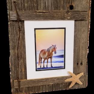 Horse on Beach Photo Frame